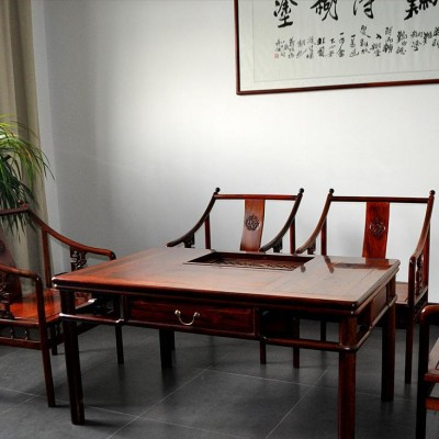 HJY-003全铝功法茶桌