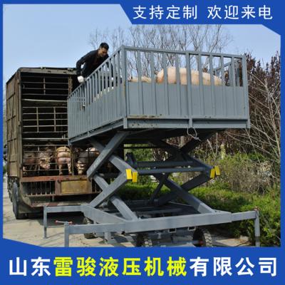 电动卸猪台